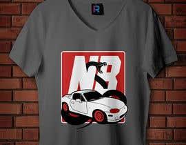 #27 untuk T-shirt design for Car Clothing - 02/08/2019 14:44 EDT oleh ianreverse