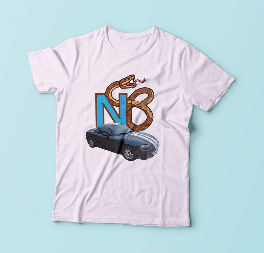 Penyertaan Peraduan #23 untuk T-shirt design for Car Clothing - 02/08/2019 14:44 EDT
