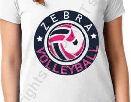 nº 35 pour Zebra Volleyball Image for Tshirt par AformatStudio