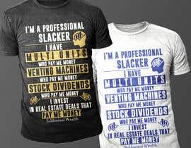 #36 para Design me a t-shirt for Subliminal Wealth por Exer1976