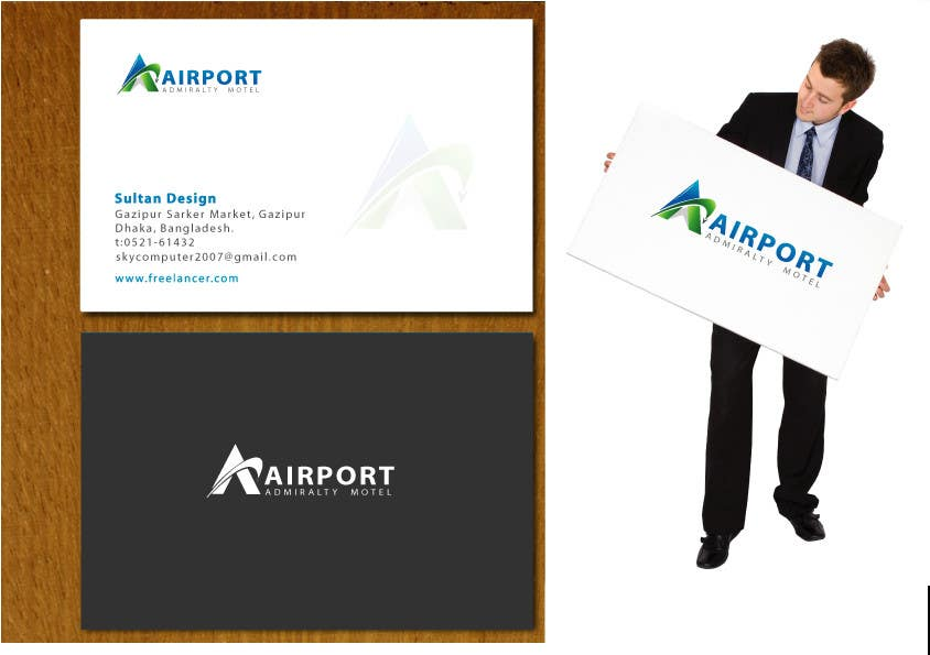 Proposition n°                                        7                                      du concours                                         Logo Design for Airport Admiralty