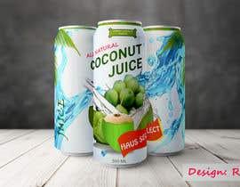 #17 для Logo design and canned drink packaging от reazuljess2