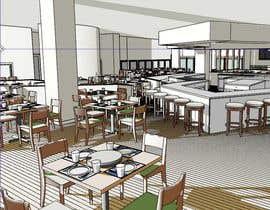#6 для All you can eat Restaurant /Bar Interior Design от ronaaron2