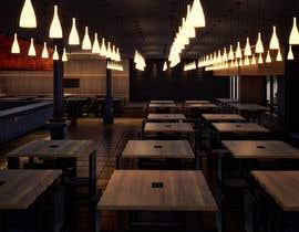 #10 для All you can eat Restaurant /Bar Interior Design от arqbernuy