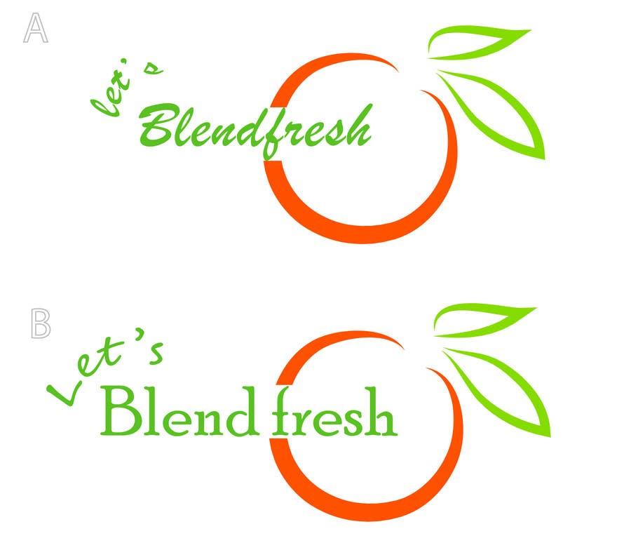 Bài tham dự cuộc thi #                                        25                                      cho                                         Redesign a Logo for Let's Blend Fresh