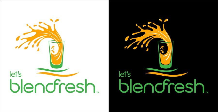 Bài tham dự cuộc thi #                                        33                                      cho                                         Redesign a Logo for Let's Blend Fresh