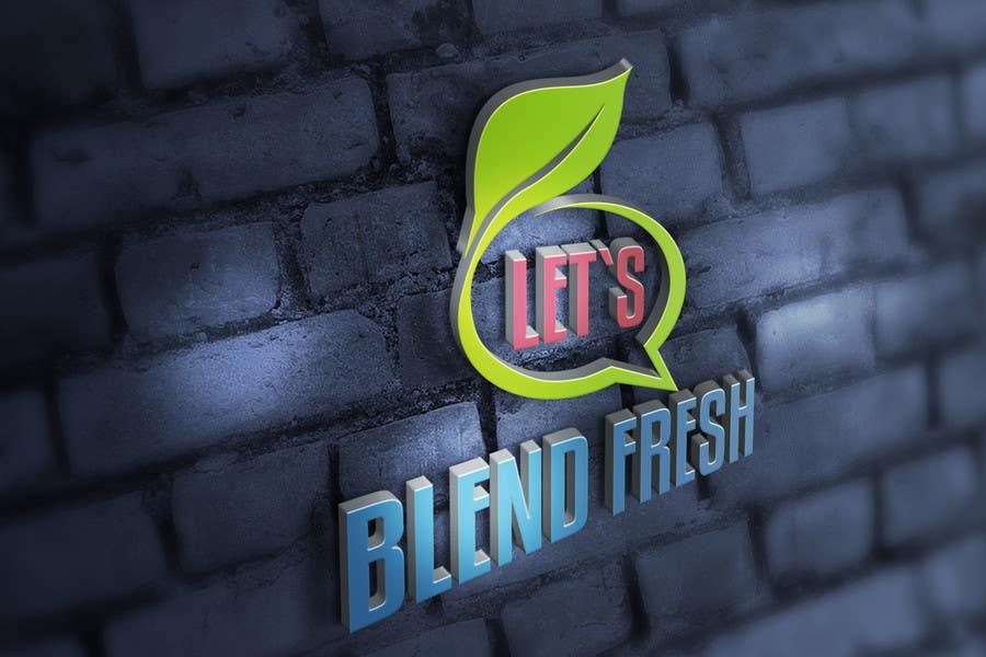 Bài tham dự cuộc thi #                                        32                                      cho                                         Redesign a Logo for Let's Blend Fresh