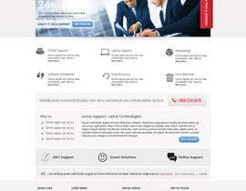#7 para Wordpress Theme Design for IT Tech Support Help $650 to $1000 por Pavithranmm