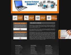 #16 para Wordpress Theme Design for IT Tech Support Help $650 to $1000 por fransievn