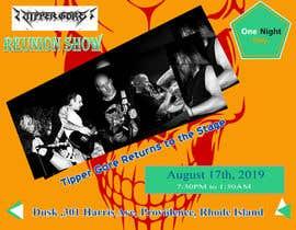 "#9 cho Facebook ad, posts, and art. Design a digital ""gig flyer"" for my metal band's concert. bởi sagorbormon191"