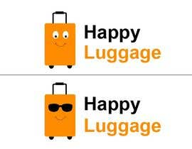 "#30 for create a visual/logo ""happy luggage"" by divdesai"