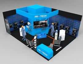 #56 for 3D exhibition stand by Vandalit
