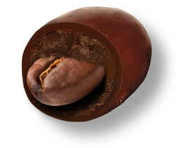 nº 4 pour HD Image of coffee bean coated in chocolate par Batmanci