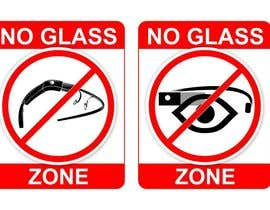 #32 for Logo Design for NO Glass Zone by erupt