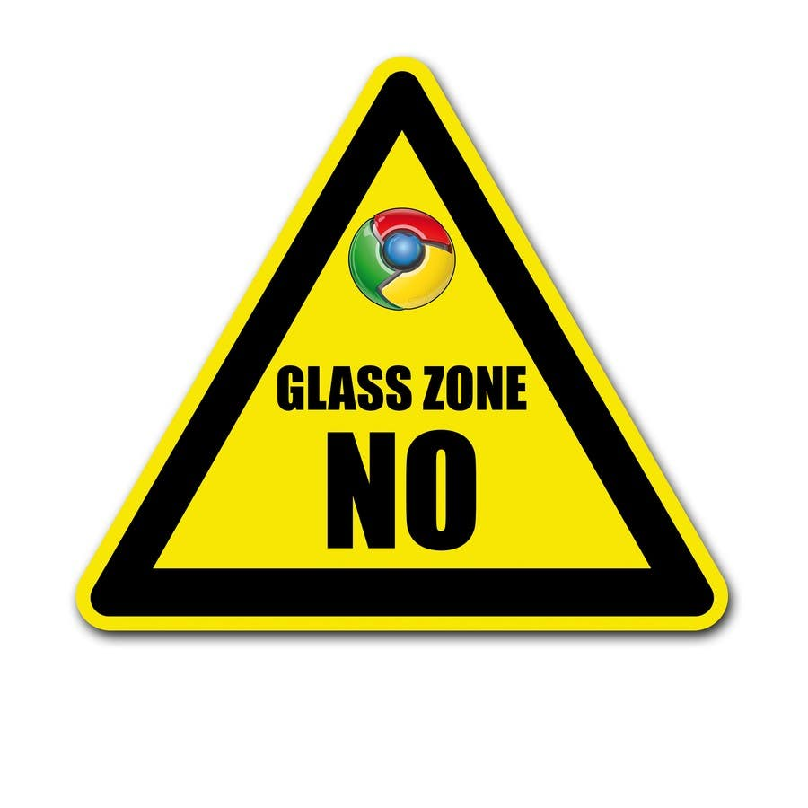 Contest Entry #28 for Logo Design for NO Glass Zone