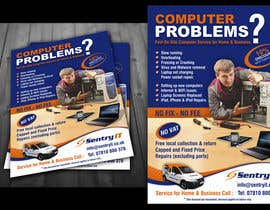 #7 for Flyer Design for Mobile Computer Repair Business by ezesol