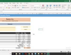 #6 for Build an invoice form that I can reuse in excel af OmarAlithawi13