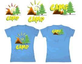 #27 для Logo for Kids Camp T-shirt от stiyenshan