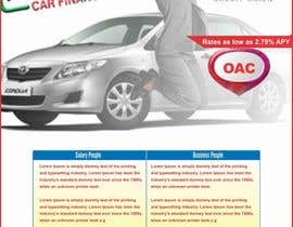 #3 for Flyer Design for Auto Loan Ad by gravitygraphics7