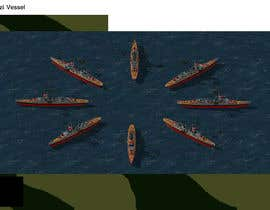 #8 for RTS battleship game units and ships 256 colour by FAlexandr