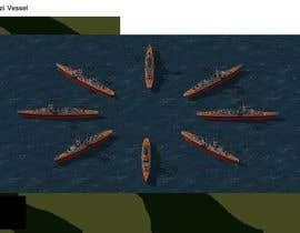 #8 untuk RTS battleship game units and ships 256 colour oleh FAlexandr