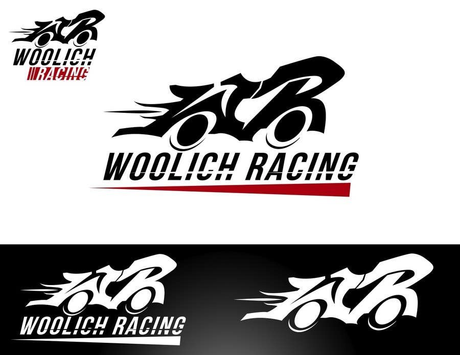 Konkurrenceindlæg #                                        92                                      for                                         Logo Design for Woolich Racing