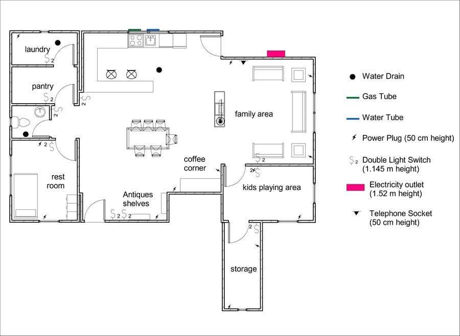 Inscrição nº 19 do Concurso para Design the ideal basement!