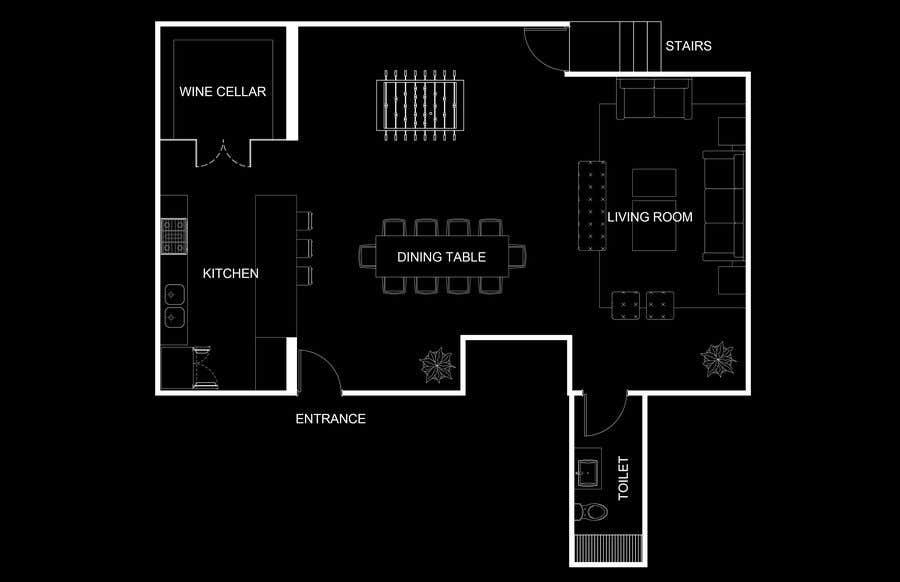 Inscrição nº 11 do Concurso para Design the ideal basement!