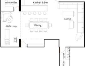 #26 cho Design the ideal basement! bởi alfaysal87