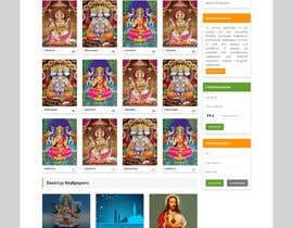 #13 для Require a fantastic design for spiritual wallpapers website от webhazrat