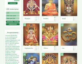 #32 для Require a fantastic design for spiritual wallpapers website от Nartan99