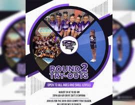 #73 untuk Create a cheerleading flyer oleh sourabh1604ph2