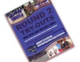 #77 untuk Create a cheerleading flyer oleh saachy44