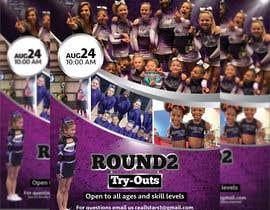 #44 untuk Create a cheerleading flyer oleh mdfaruqhossen