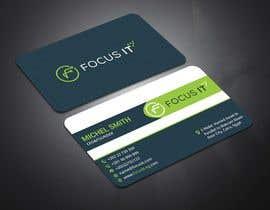 nº 121 pour design business card for IT company par sohelrana210005