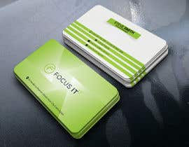 nº 182 pour design business card for IT company par designerfaysal