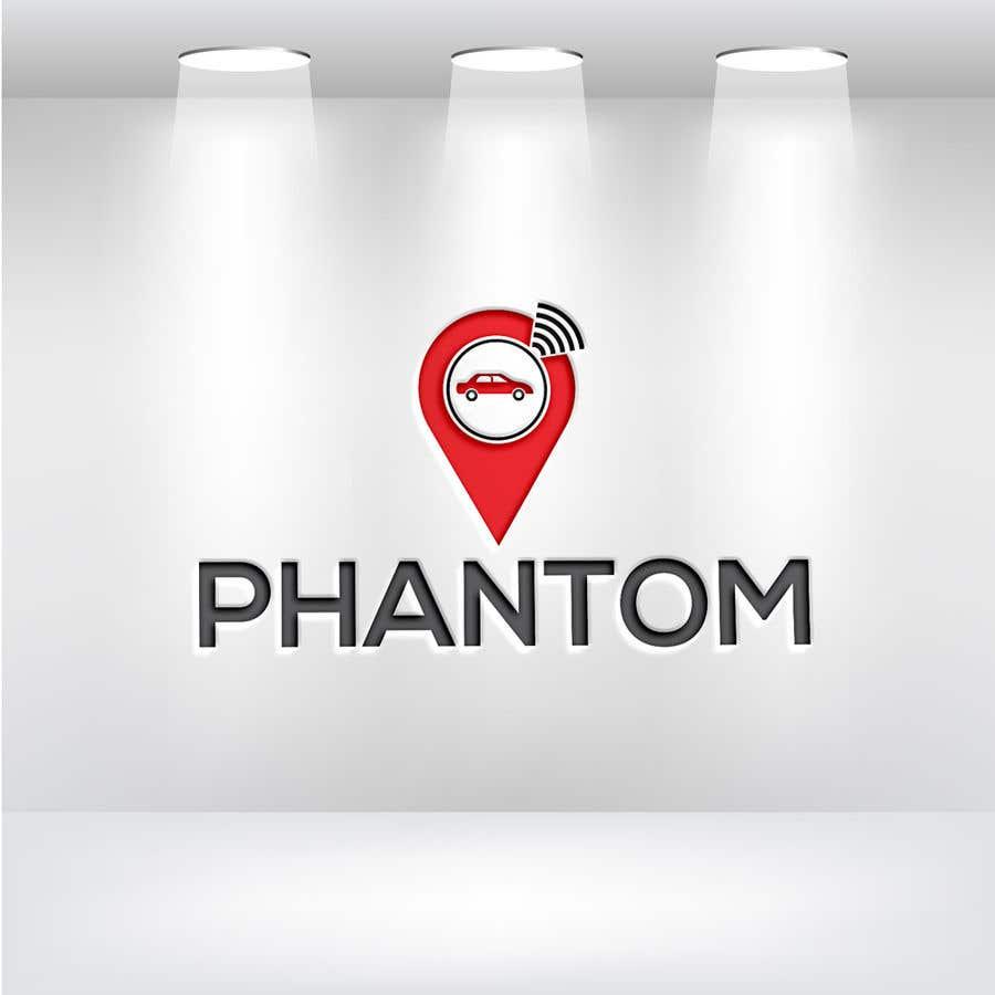"""Inscrição nº 98 do Concurso para I need to develop brand logo for the GPS tracking system """"Phantom"""""""