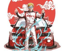 #26 cho T-shirt illustration design- Japanese Anime style bởi adibfaesol