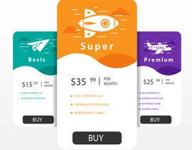 #12 for Design pricing table by MalakMedhat96