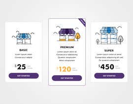 #7 for Design pricing table by hstiwana51