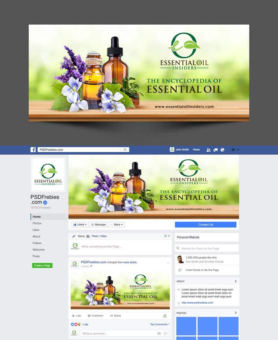 Proposition n°29 du concours Facebook Cover Image for Essential Oil Facebook Community