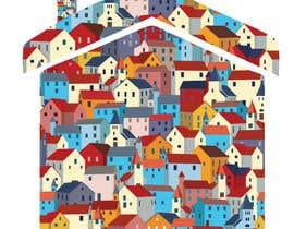 #56 for Village houses/roofs illustration af SajinAhmed18