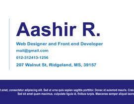 #3 cho HTML Signature 81419_2 bởi AashirRasheed