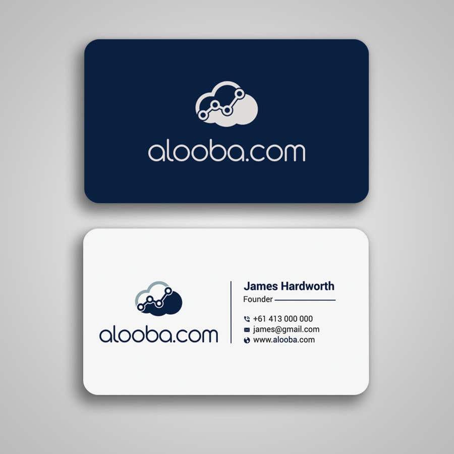 Konkurrenceindlæg #104 for Design some business cards