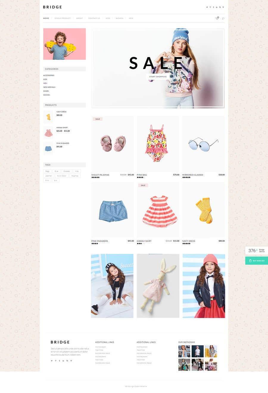 Kilpailutyö #12 kilpailussa Web Designer needed