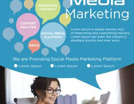 #2 for Social Media Marketing Brochure af mdsojibsikder4