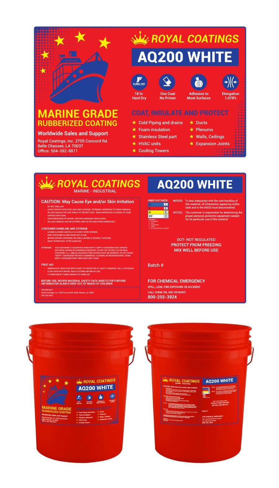 Konkurrenceindlæg #28 for Label design for 5 gallon pail