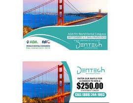 Nro 20 kilpailuun Design a professional flyer/postcard for an upcoming conference show käyttäjältä maidang34