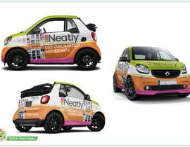 Nro 21 kilpailuun Design a Vehicle Wrap For Home Organizing Company On Smart Car käyttäjältä Azhoeck
