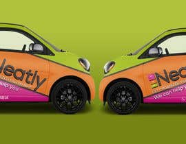 Nro 4 kilpailuun Design a Vehicle Wrap For Home Organizing Company On Smart Car käyttäjältä Leografic